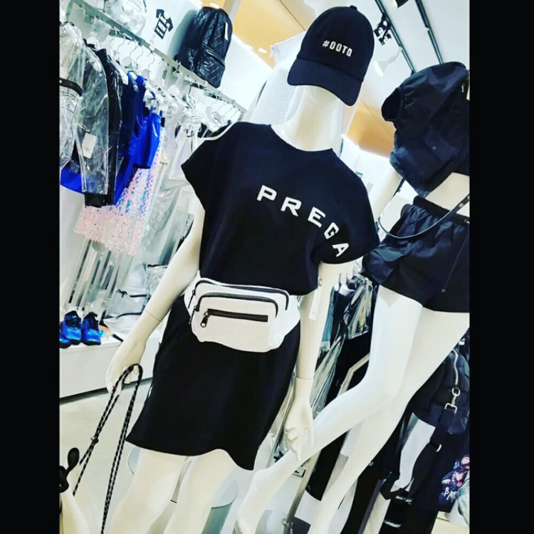 [PREGA]Original long T-shirt