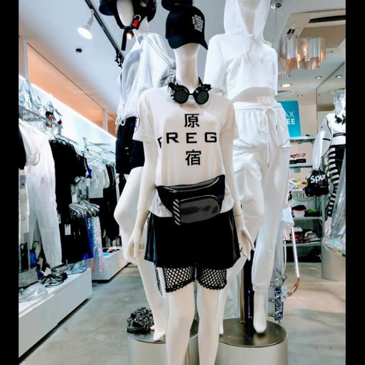 "【PREGA】""HARAJUKU"" T-shirt"