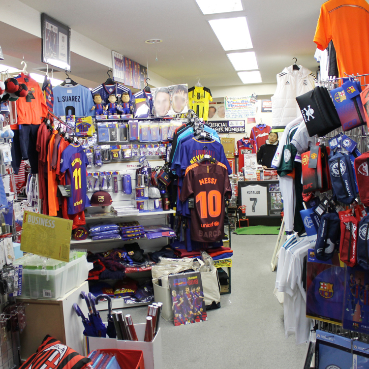 Popular soccer team goods and decorations
