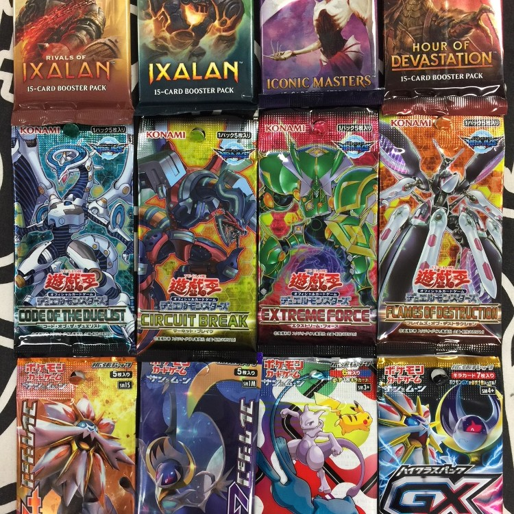 Trading card game<br /> <br /> From major titles such as Magic The Gathering, Yu-Gi-Oh!, Pokemon and Vanguard to minor titles, we handle nearly all TCGs in Japan and abroad.<br /> Of course a single card is also deployed!<br /> We also do purchase.