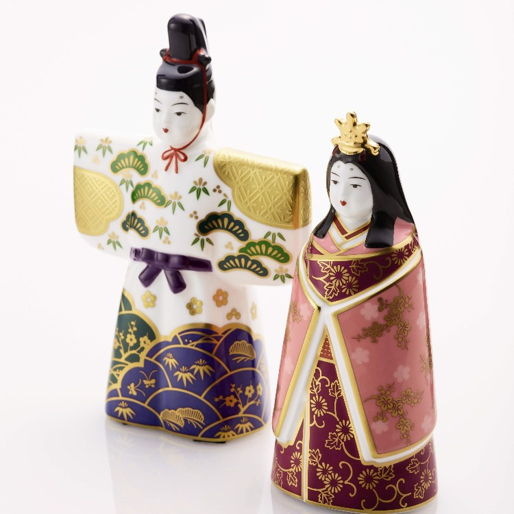 &rdquo;Hina Dolls&quot;(dolls  displayed at the Girl&#039;s Festival )are presented wishing health and happiness for girls.<br />