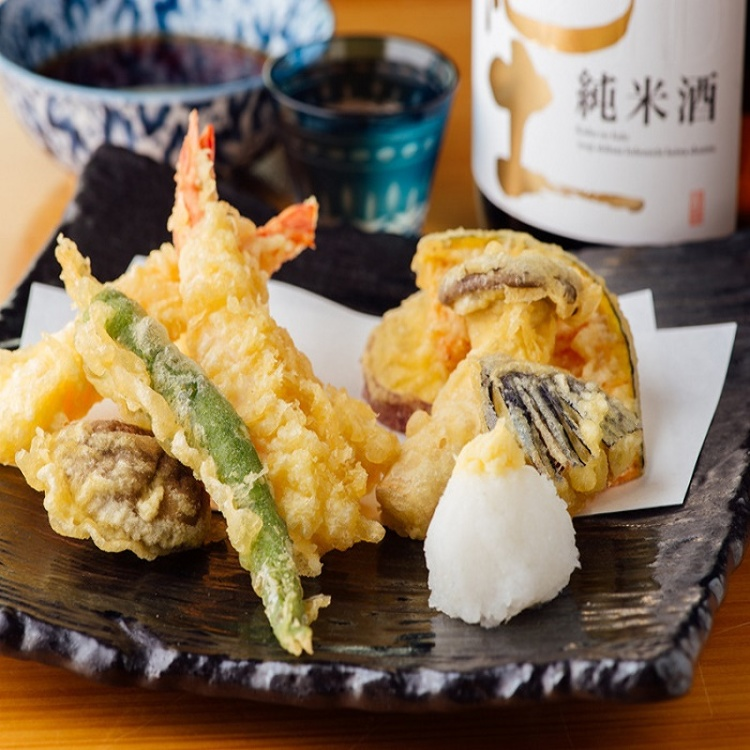 【4F the ZEN】Shrimp & Vegetables Tempura