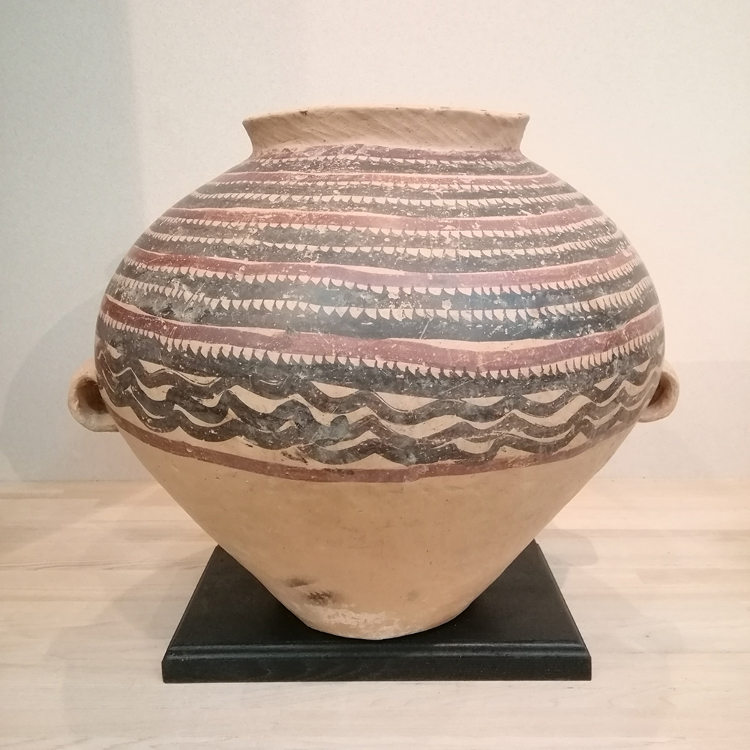 Andersson Colored Ancient Earthenware Pot