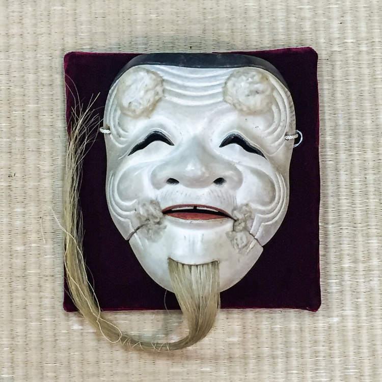 noh-mask 「Okina」