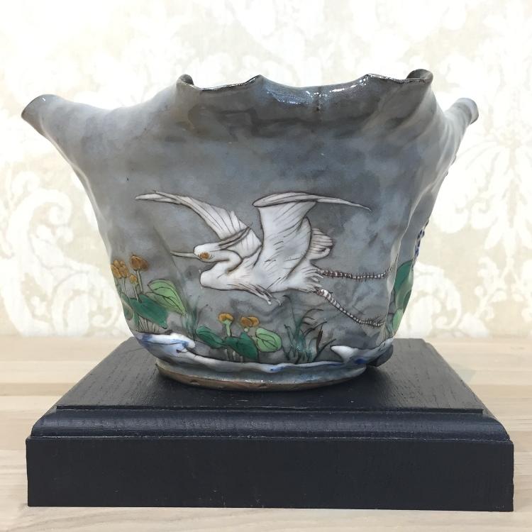 A bowl. meiji period. diameter:19.5cm height:11cm