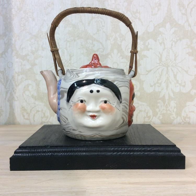 strange handle teapot