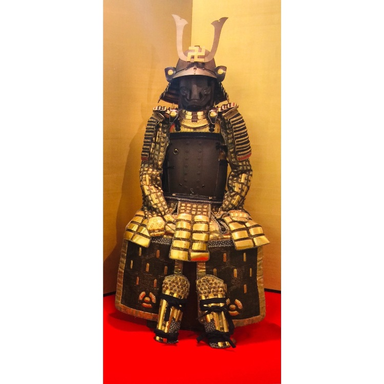 A suite of armor 