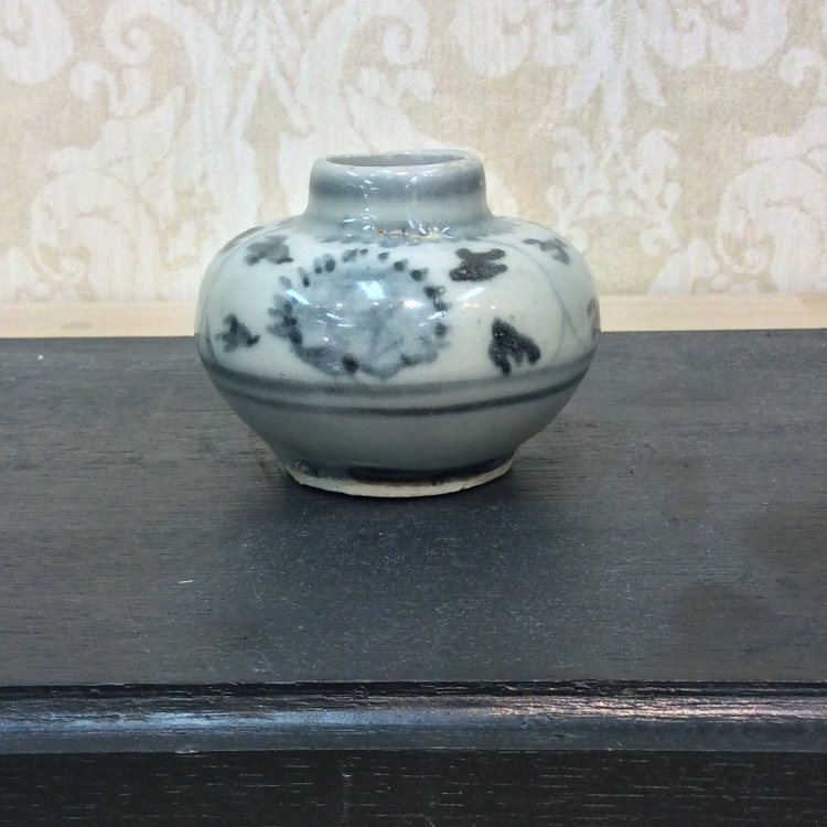Blue & White Small pot Ming early ※Please ask us for the price