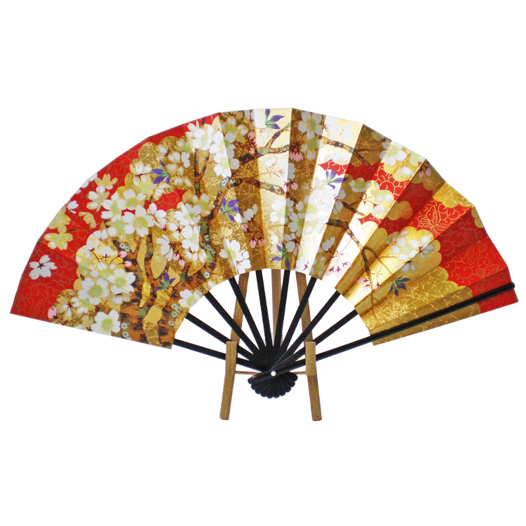 10.75 in. Sakura with Fan Stand set