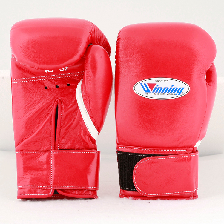 Winning / MS-300-B / Boxing Gloves * Tape Type (Red) 10 oz