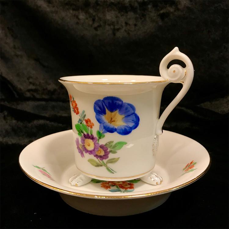 Meissen cup & saucer