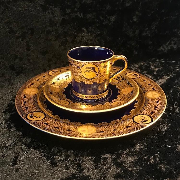 Kinkozan cup & saucer