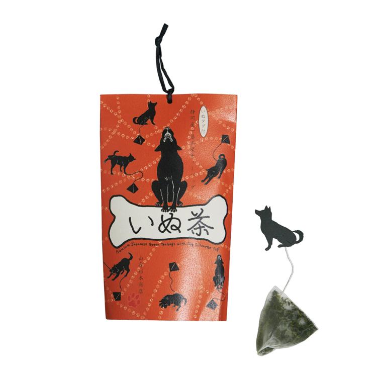 Inu-cha dog teabags (high-grade Shizuoka green tea)