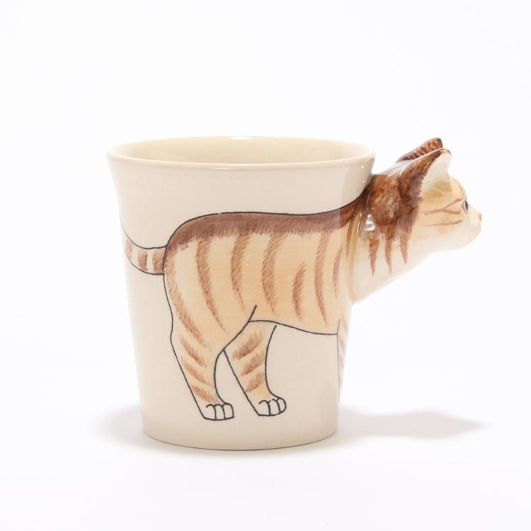 머그컵 (고양이)
