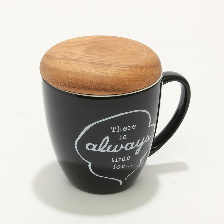 Mug with lid