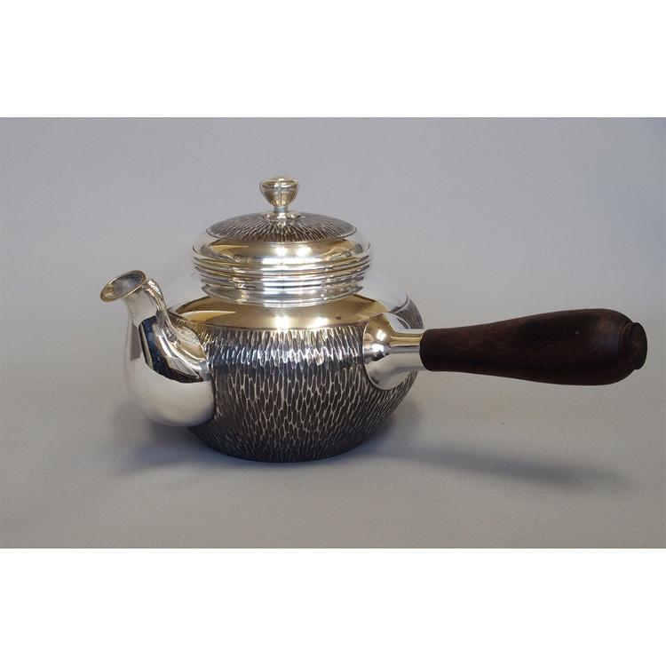 9 cm Sterling Silver Teapot (Rush pattern)