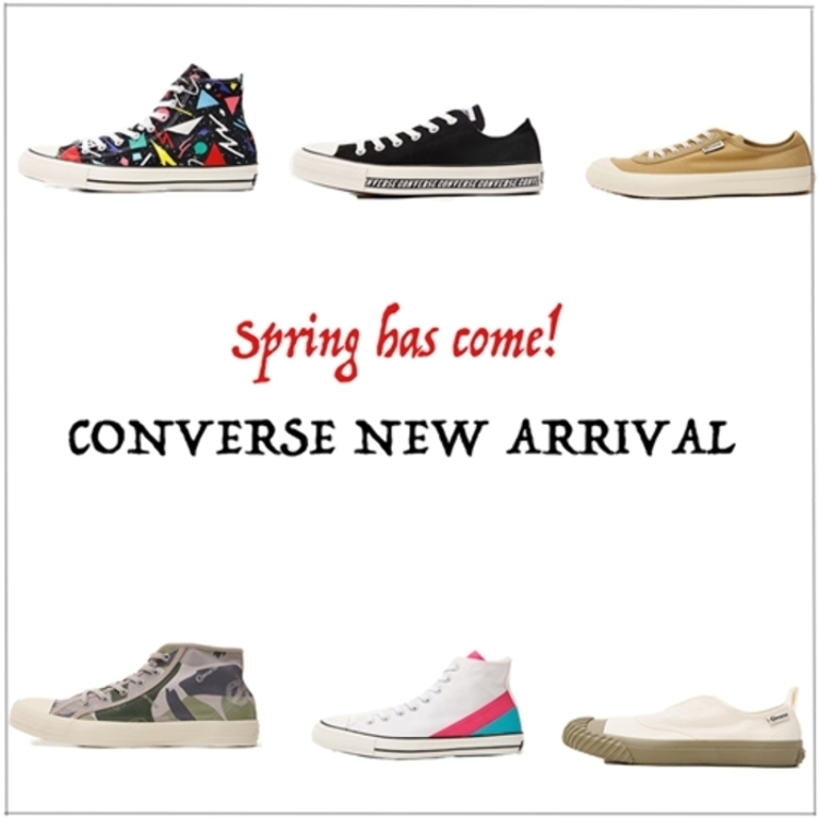 CONVERSE NEW ARRIVAL SHOES 【BIG C】&【ENERGY WAVE】