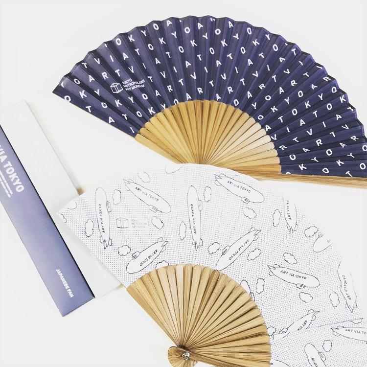 Tokyo Metropolitan Art Museum Original<br /> &quot;ART VIA TOKYO&quot; folding fan