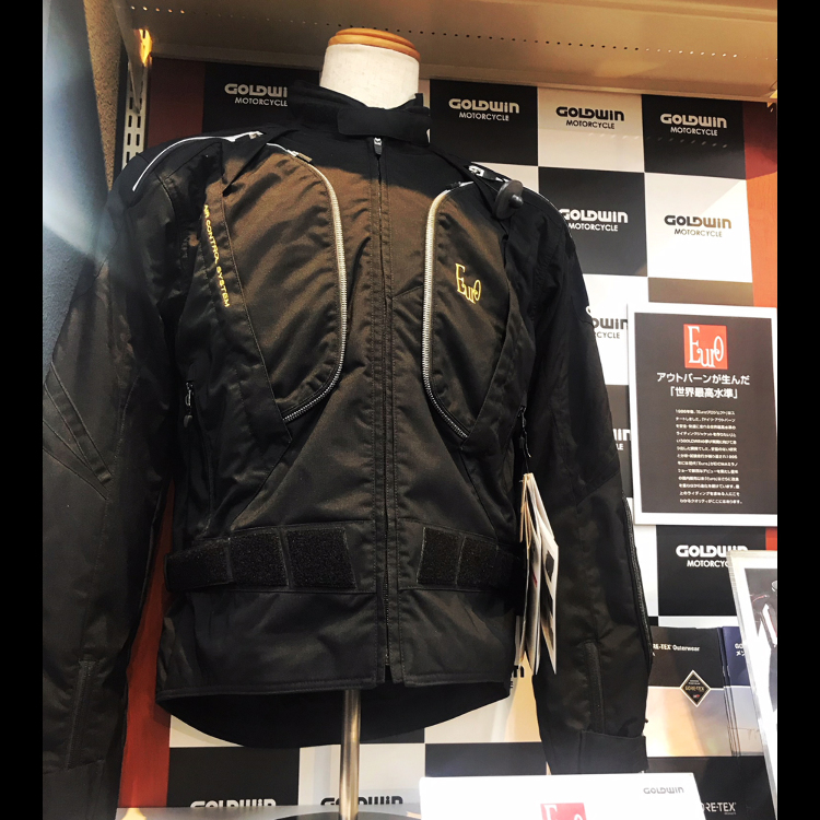 GOLDWIN MOTORCYCLE Euro cyclone jacket (mens) GSM22770