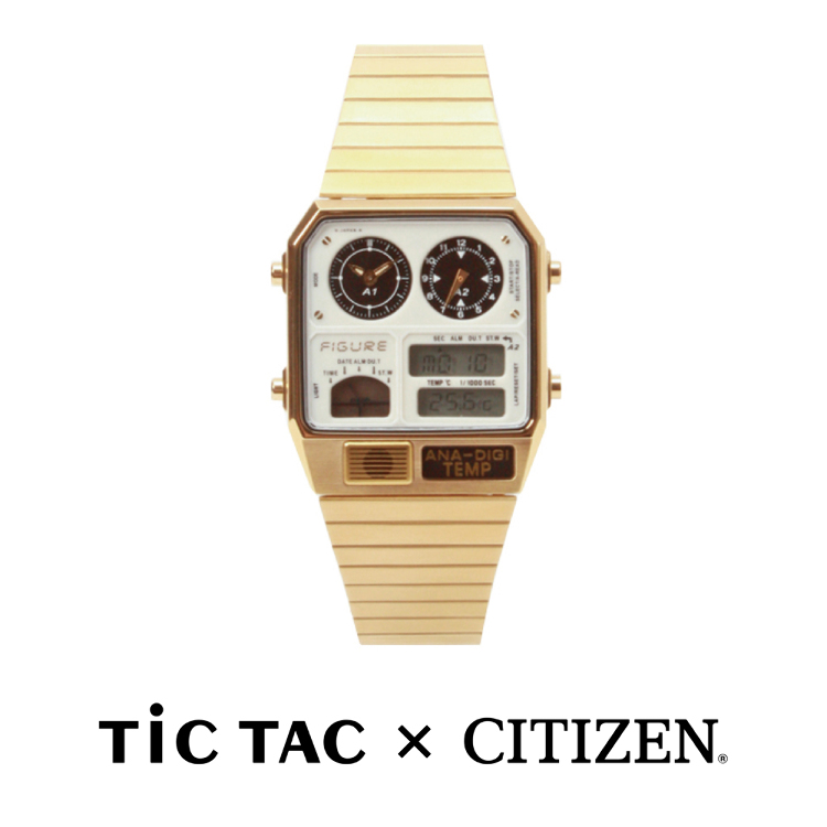 Movement in Motion(TiCTAC×CITIZEN)