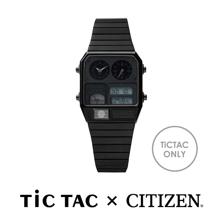 Movement in Motion(TiCTAC × CITIZEN)