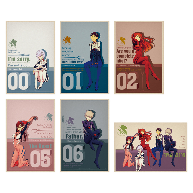 Post Card Set (Contains Six Cards)