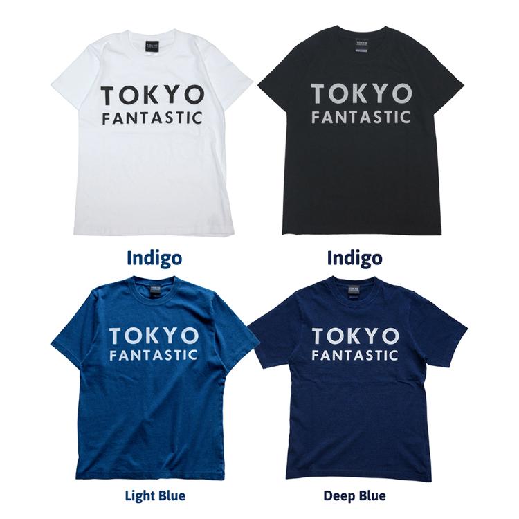 TOKYO FANTASTIC T-shirt & Indigo T-shirt