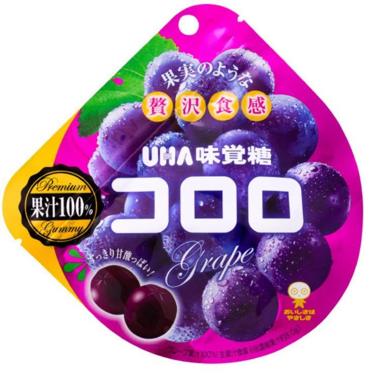 味觉糖 花朵 葡萄 40G