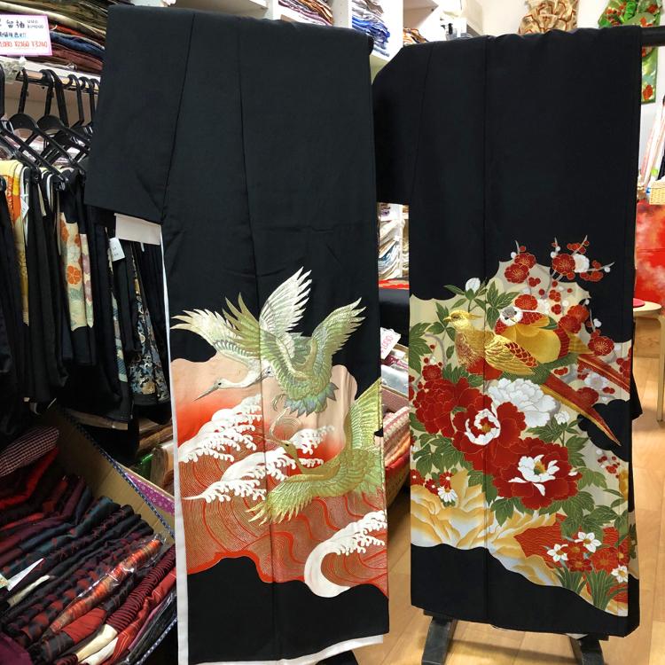 【販售】二手黑留袖