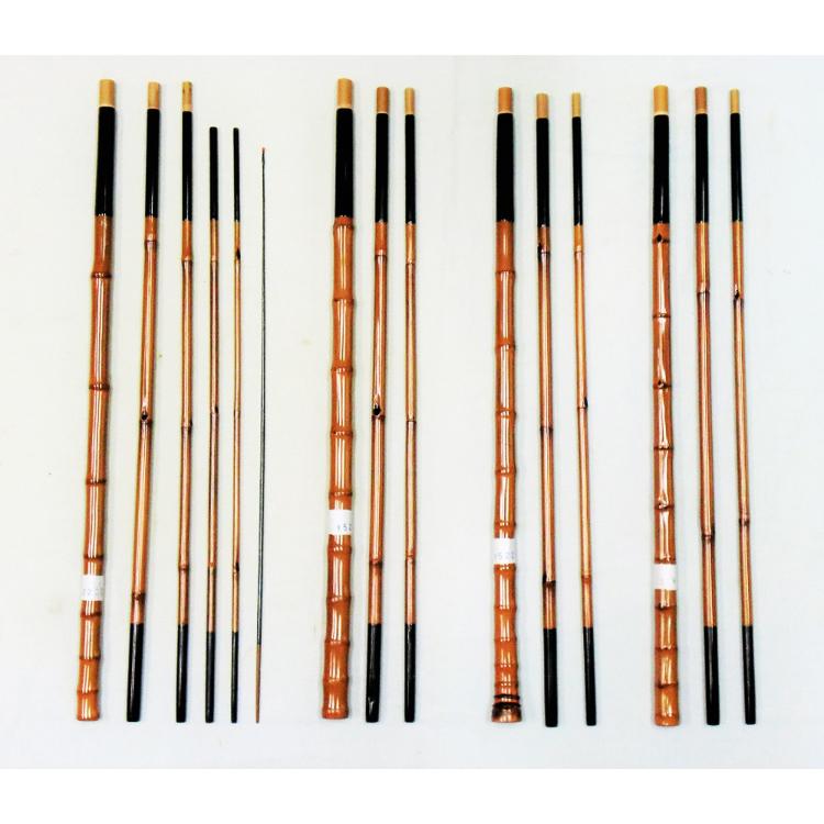 River rod, length approximately 3.3m