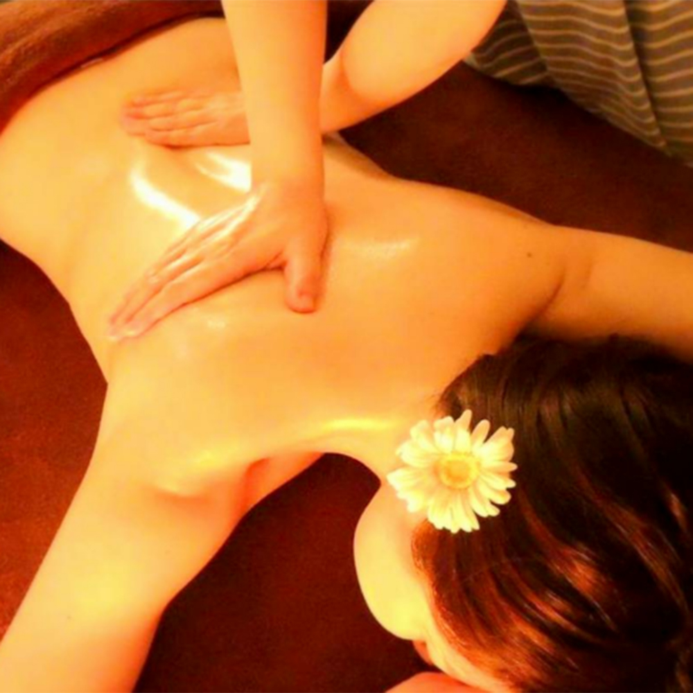 A luxurious full-body aromatherapy massage package