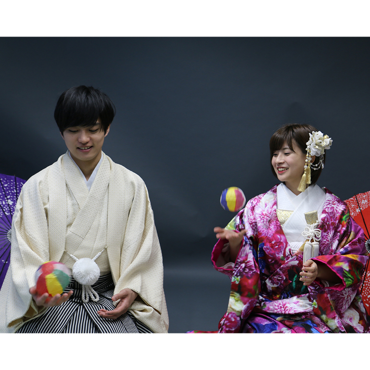 Wedding Photo Plan in Kimono