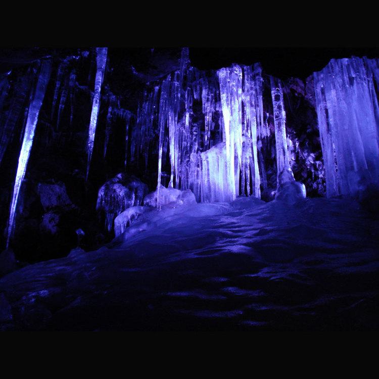 나루사와효케쓰 얼음 동굴