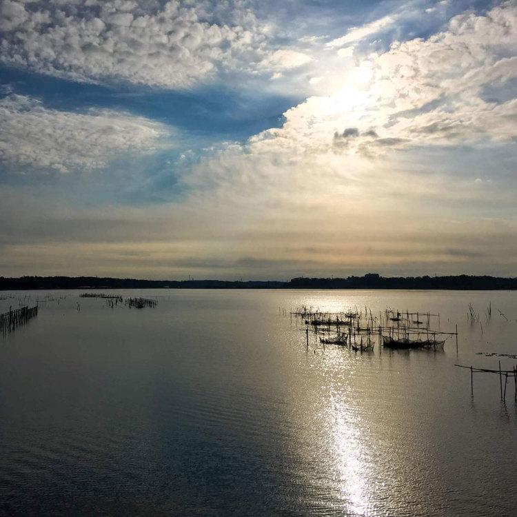Lake Inba and the basin