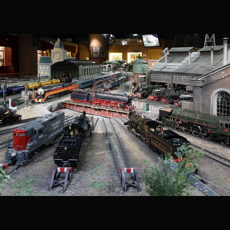 原铁路模型博物馆