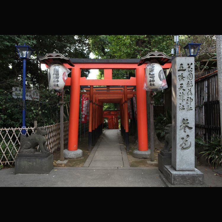五條天神社 花園稻荷神社