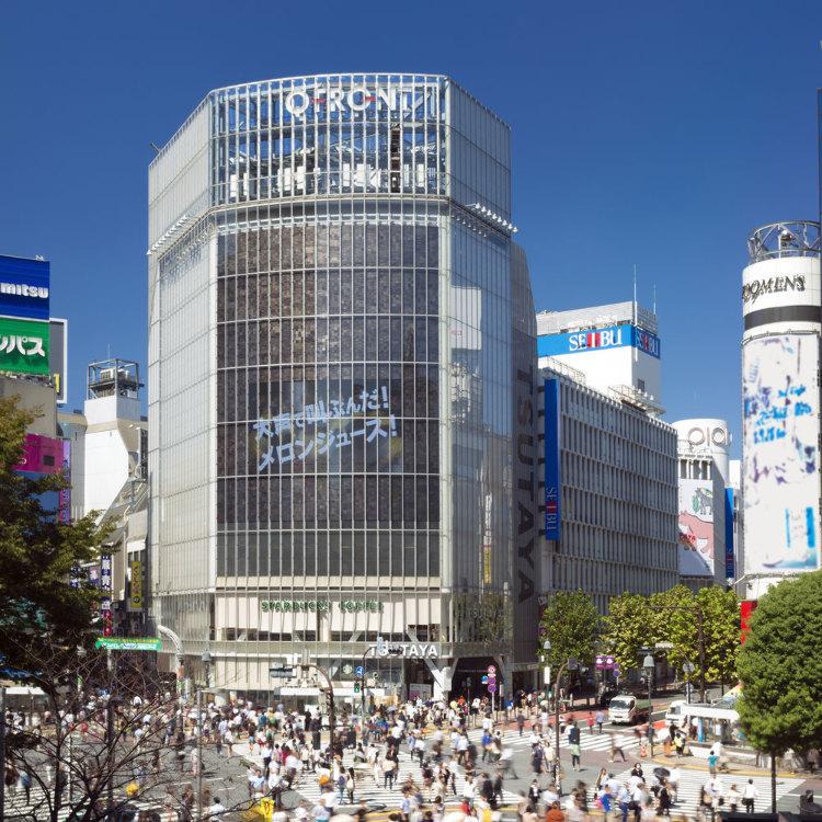 澀谷站前十字路口