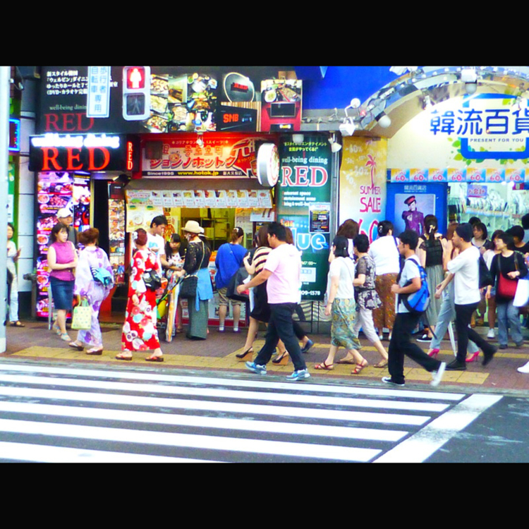 Shin-Okubo Shopping Street (Shin-Okubo Korean Town)
