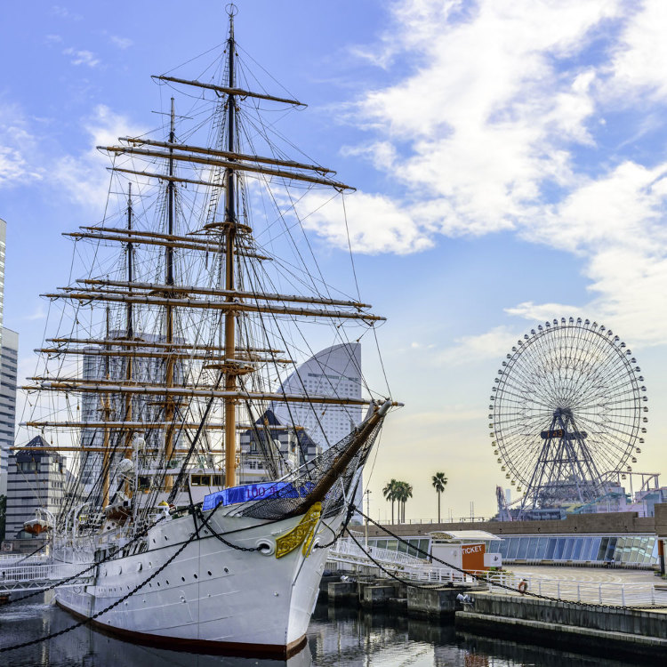Sail Training Ship NIPPON MARU