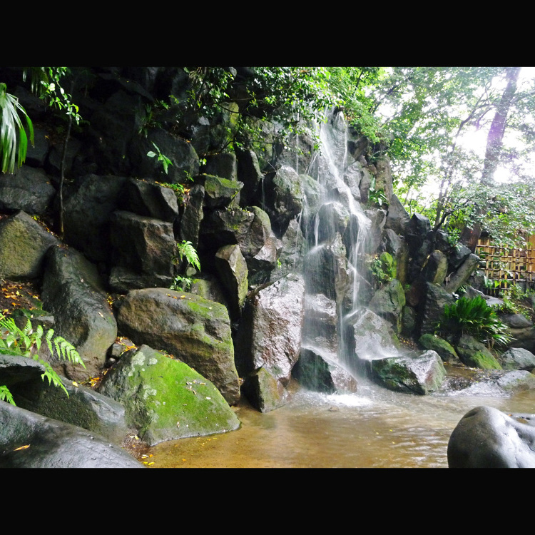 名主瀑布公园