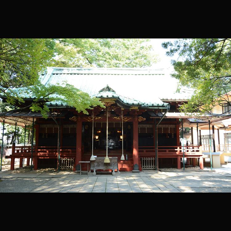 赤坂冰川神社
