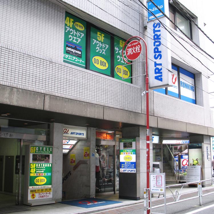 ART SPORTS、ODBOX澀谷商店