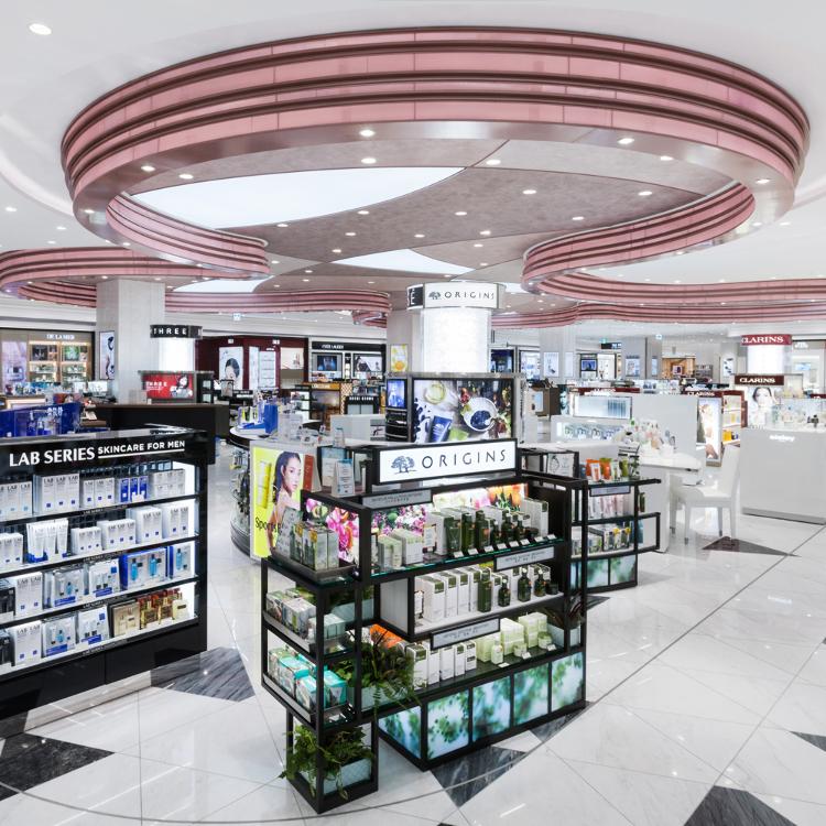 Lotte Duty Free Ginza store