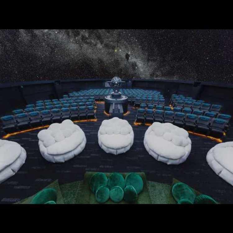 "Konica Minolta Planetarium ""Manten"""