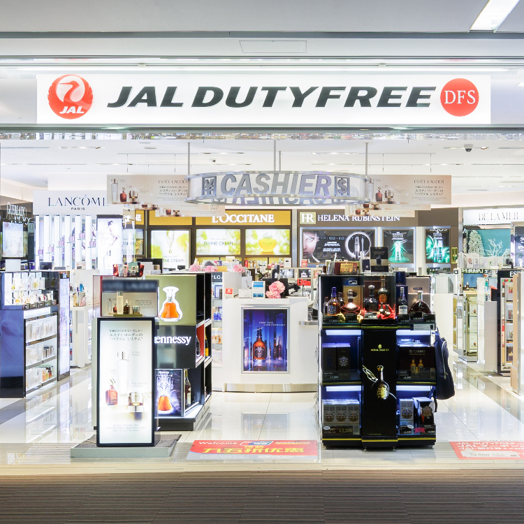 JAL DUTYFREE Main building store