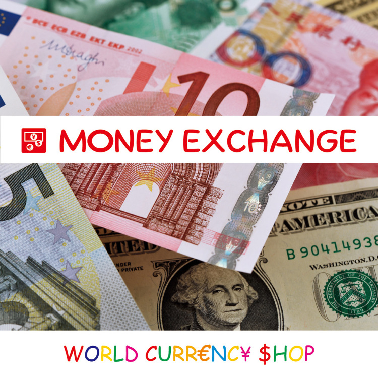 World currency shop Shinjuku Minamiguchi KeioMall Annex