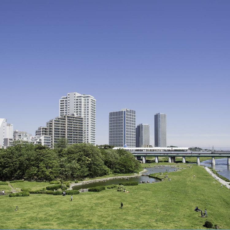 Futakotamagawa green area playground