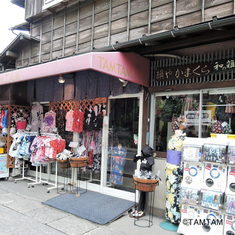 Japanese arts & crafts shop - TAMTAM