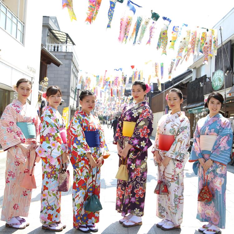 kimono rental shop YUZUYA