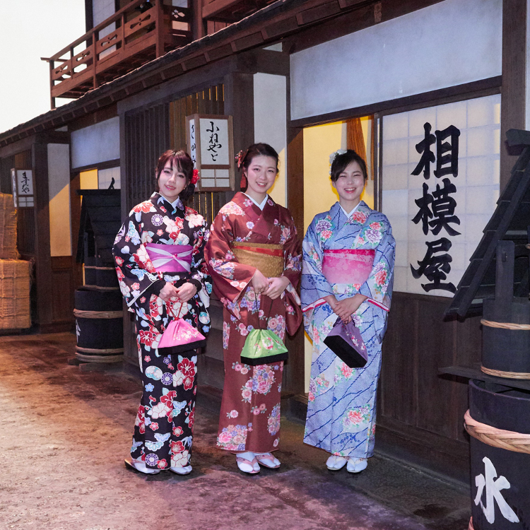 Kiyosumi Shirakawa Kimono Rentals - Fukagawa Kimono Salon